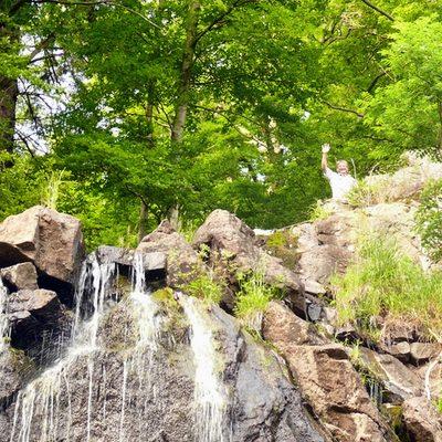 Radauwasserfall2 in Der Radau-Wasserfall bei Bad Harzburg