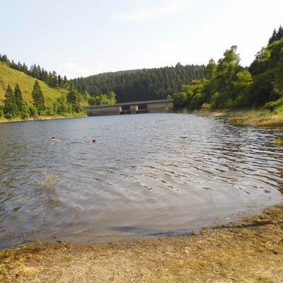 Okerstausee in Die Okertalsperre bei Schulenberg im Harz