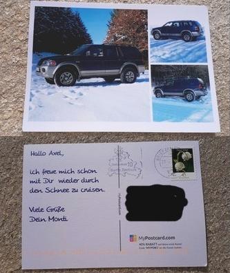 Postkarte in Urlaubsgrüße weltweit versenden