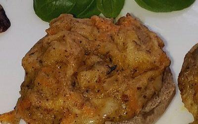 Cahmpignon-400x250 in [Rezept] Gefüllte Champignons mit Salat