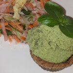 [Rezept] Veganes Gurken-Avocado-Eis mit Waffel