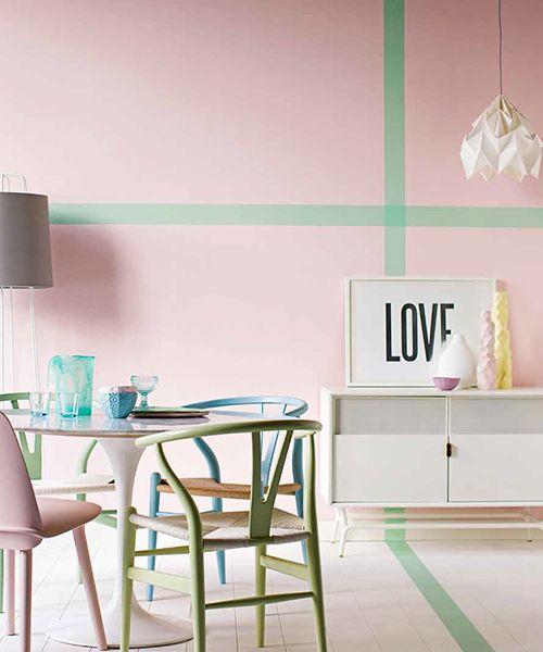 Eiscreme-farben in Wohnzimmer gestalten: 9 Trend-Tipps für mehr Individualität