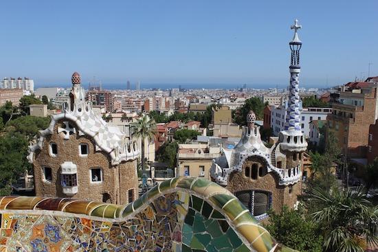 Barcelona-architektur in Städtereise nach Barcelona - Kultur, Kunst und Fussball