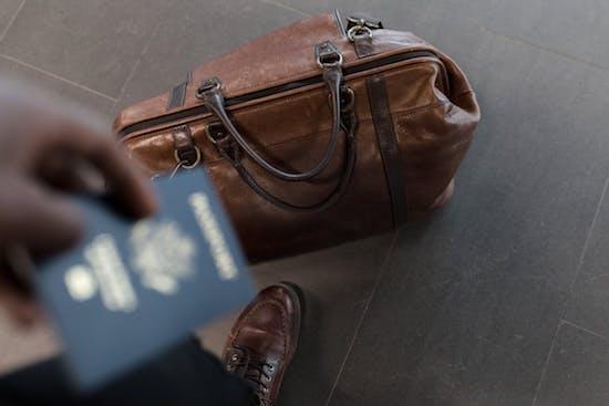 Tasche für die Reise