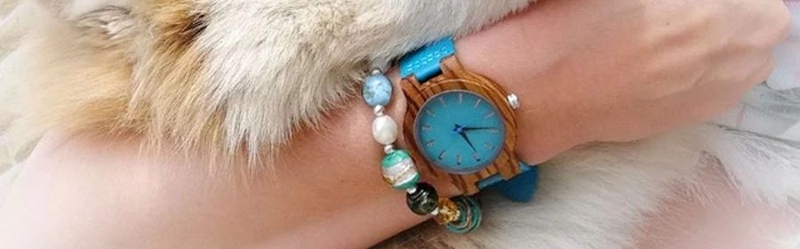 Uhr aus Holz